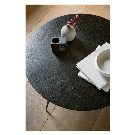 Luna Coffee Table – Lava Black