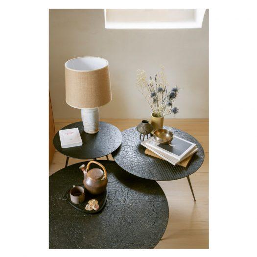 Luna Coffee Table – Lava – Whisky