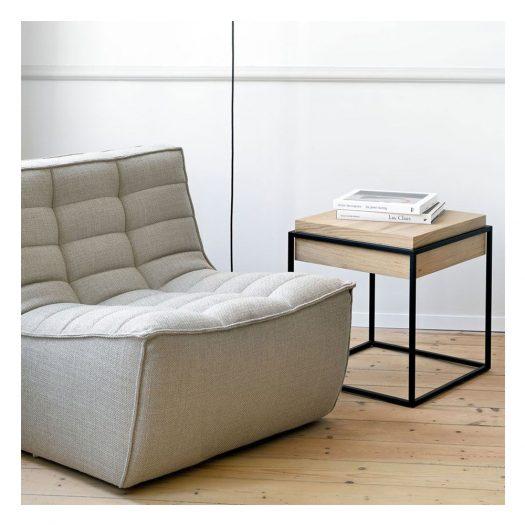 N701 Sofa – 1 Seater – Beige