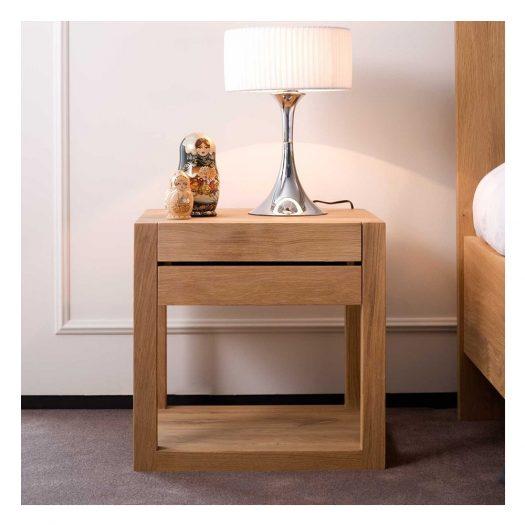 Oak Azur Bedside Table
