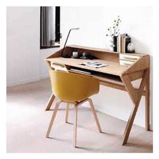 Oak Origami Desk – Black