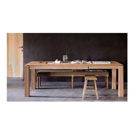 Oak Slice Dining Table
