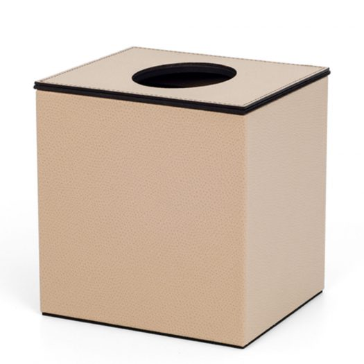 Square Tissue Box With Magnetic Lid