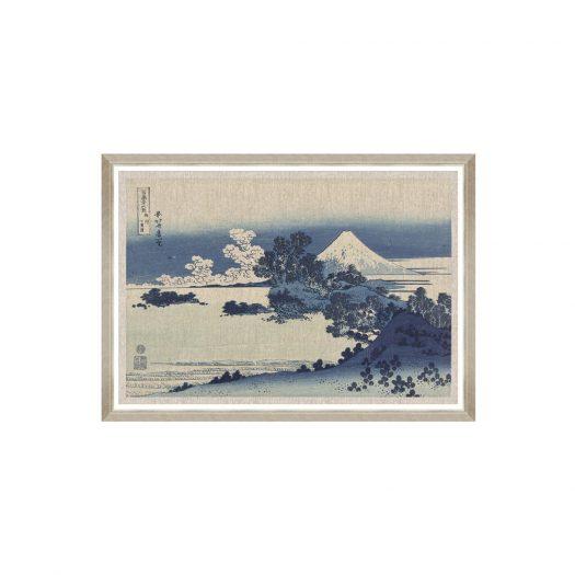 SHICHIRI GA HAMA BY HOKUSAI