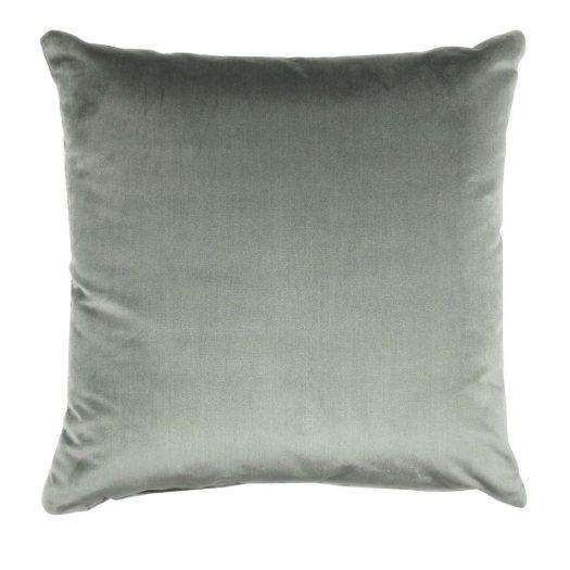 Dark Green Square Cushion  by L'Opificio