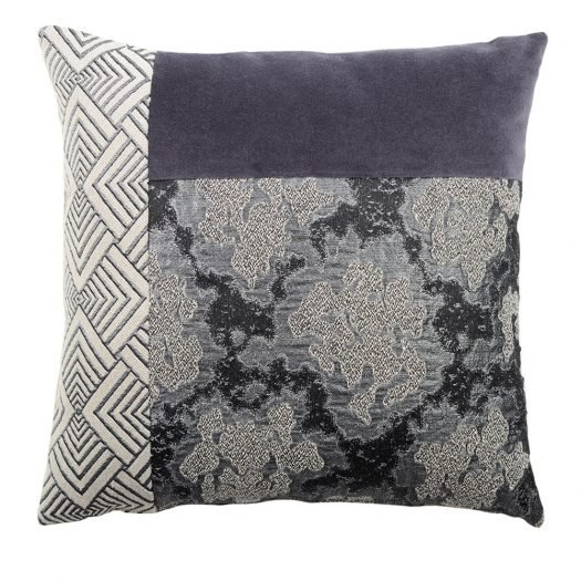Grey Carre T Cushion by L'Opificio