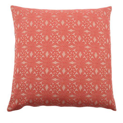 Vivid Red Carre Cushion by L'Opificio
