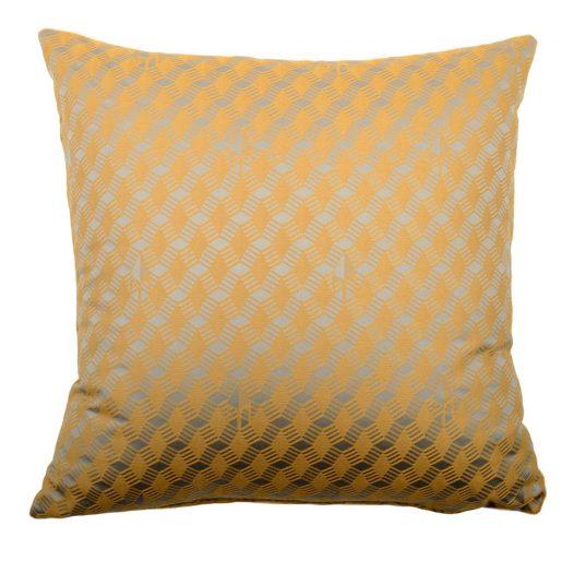 Carre Caramel Jacquard Cushion by L'Opificio