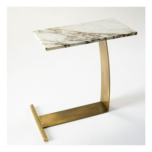 Guy Marble Table by Marioni