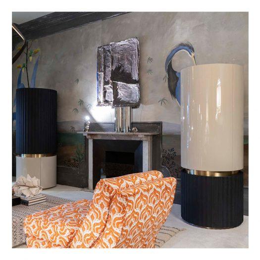 LeCoco Beige Cabinet by Monica Gasperini