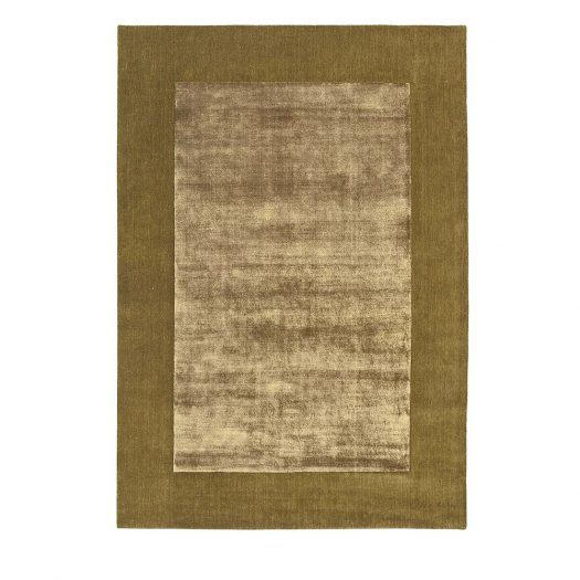 Gold Brianne Rug by Sitap Carpet Couture Italia