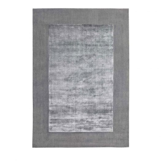 Silver Brianne Rug by Sitap Carpet Couture Italia