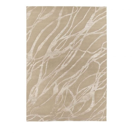 Beige Chantal Rug by Sitap Carpet Couture Italia