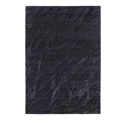 Midnight Blue Chantal Rug by Sitap Carpet Couture Italia
