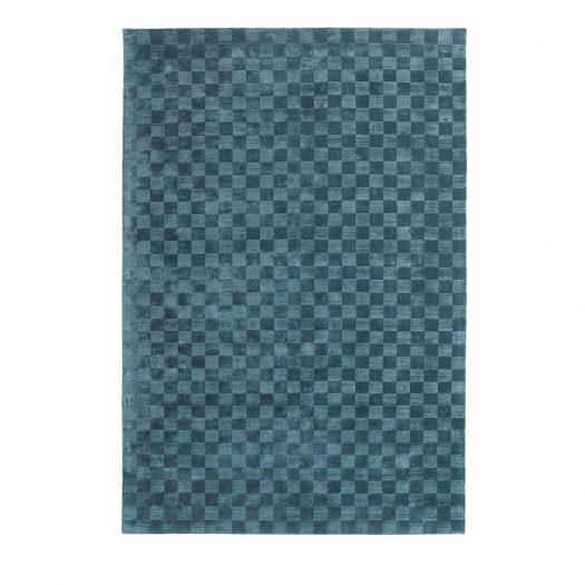 Damier Ocean Rug by Sitap Carpet Couture Italia