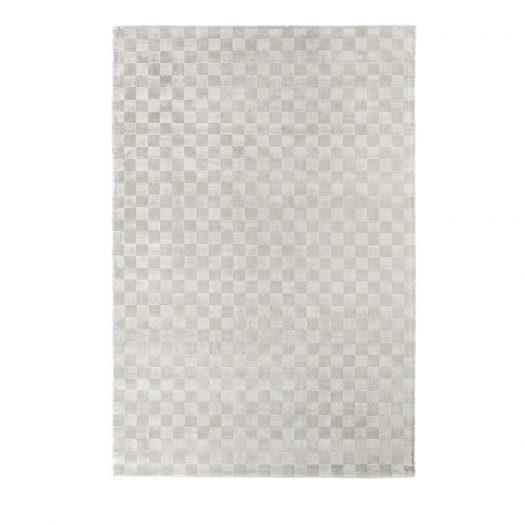 Damier Platinum Rug by Sitap Carpet Couture Italia