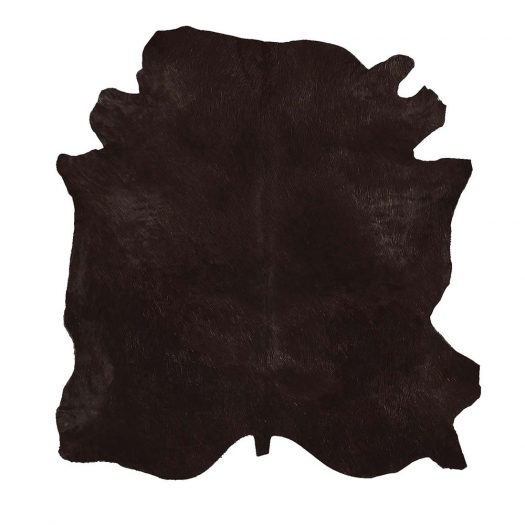 Natural Tanner Brown Colored Leather Rug by Sitap Carpet Couture Italia