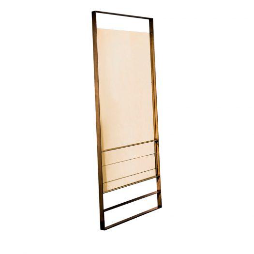 Golden Visual Mirror by Sovet Italia