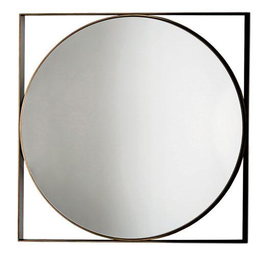 Round Visual Mirror by Sovet Italia