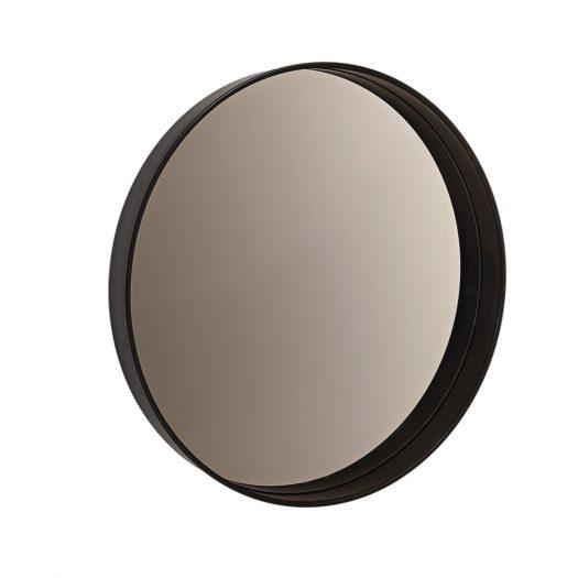 Horizon Mirror with Bronze Finish by Sovet Italia