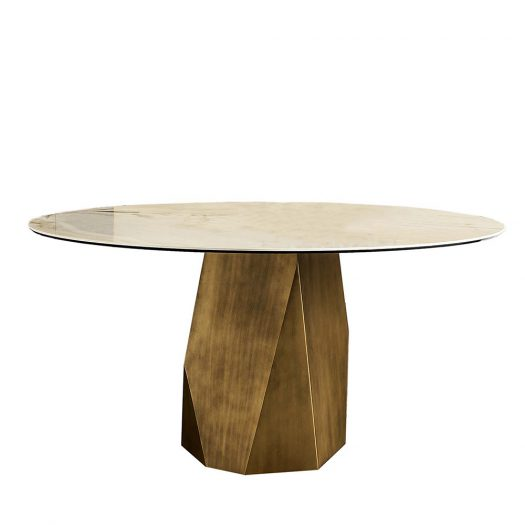 Deod Brown Table by Sovet Italia