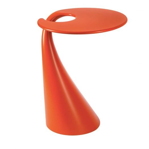 Milan Red Side Table by VGnewtrend