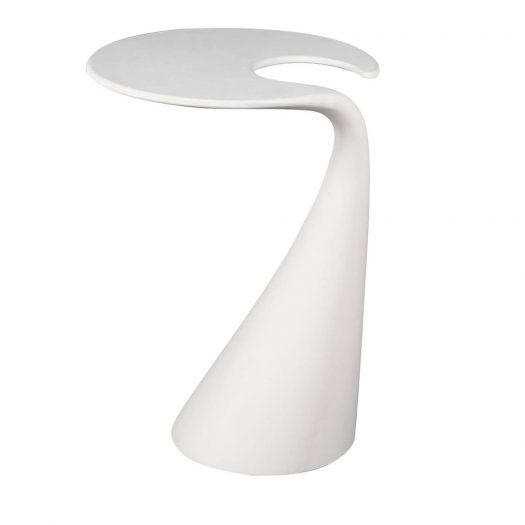 Milan White Side Table by VGnewtrend