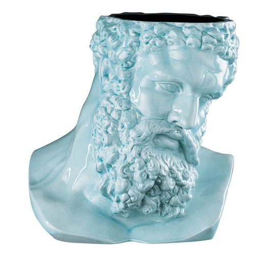 Hercules Purist Blue Vase by  VGnewtrend