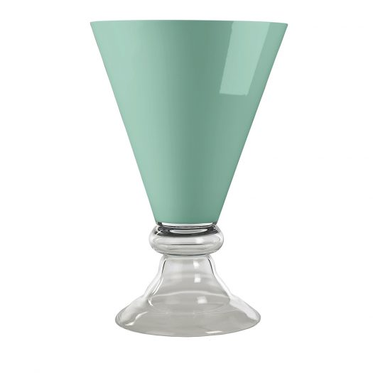 New Romantic Mint Vase by  VGnewtrend