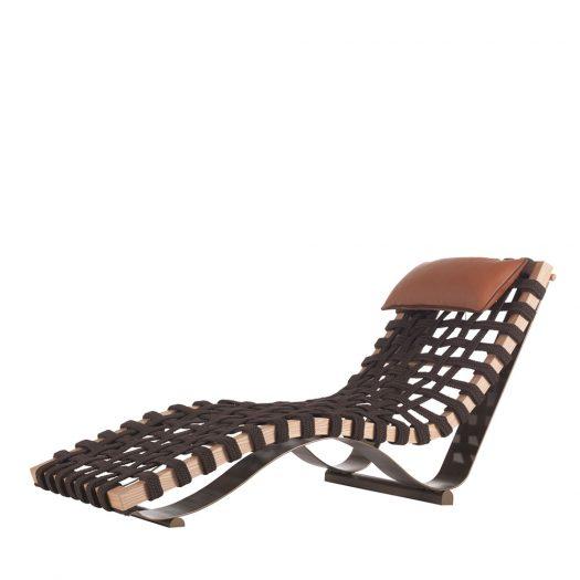 Enjoy Chaise Longue by Zanaboni Edizioni