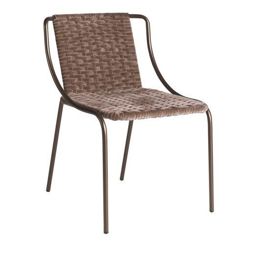 Sunrise Velvet Chair by Zanaboni Edizioni