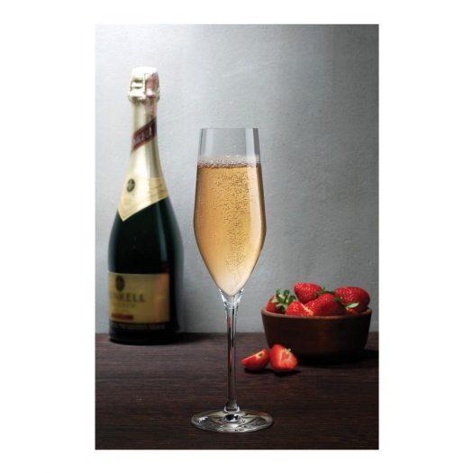 Vinifera Set of 2 Champagne Glasses