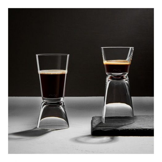 Dual Set of 2 Espresso Glasses