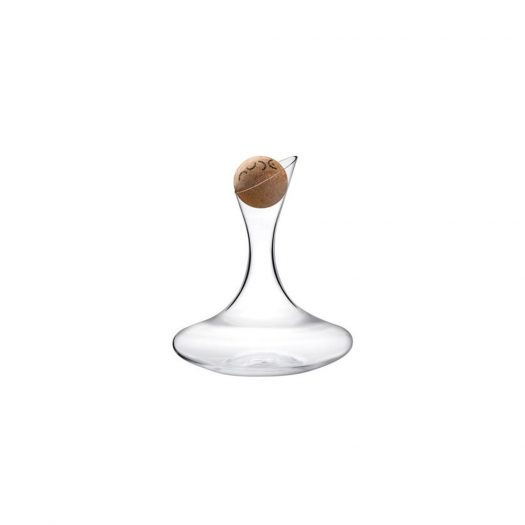 Oxygen Wine Decanter with Cork Stopper