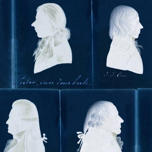DUTCH PORTRAITS BLUE