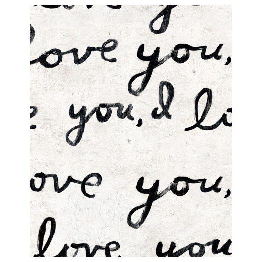 I LOVE YOU, I LOVE YOU