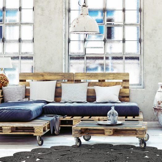 Black and Gray Alyssa 2B Rug by Sitap Carpet Couture Italia