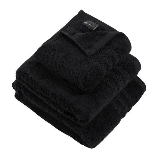Egyptian Cotton Towel - Black - Bath Towel