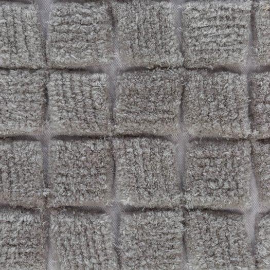 Square Textured Cushion – 50x50cm – Grey