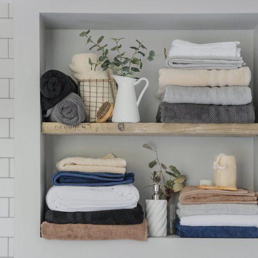 Egyptian Cotton Towel – Ivory – Bath Towel