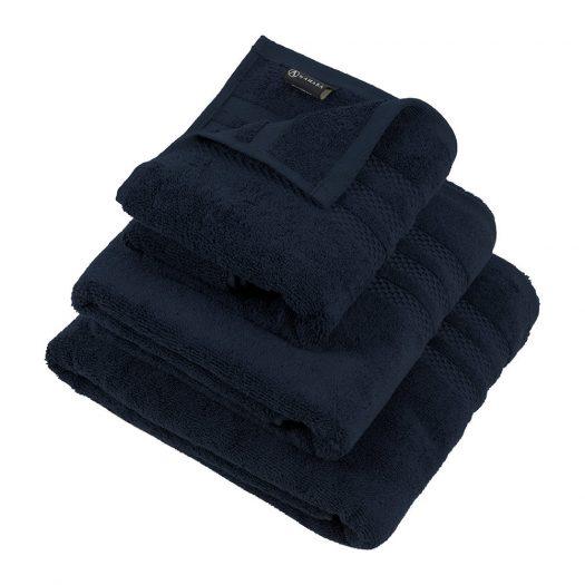 Egyptian Cotton Towel - Navy - Hand Towel