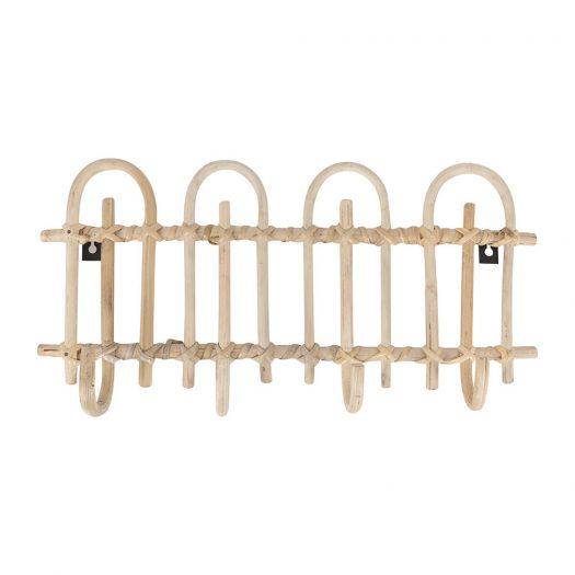 Cane Wall Hooks - 4 Hooks