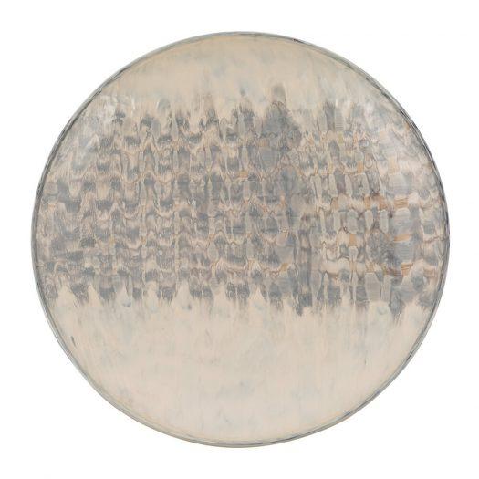 Chevron Smudge Wall Plate