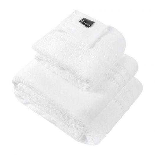 Egyptian Cotton Towel - White - Hand Towel