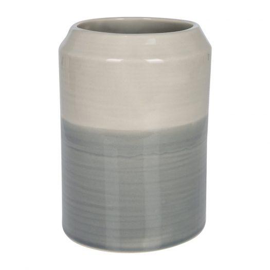 Grey Ombre Utensil Pot