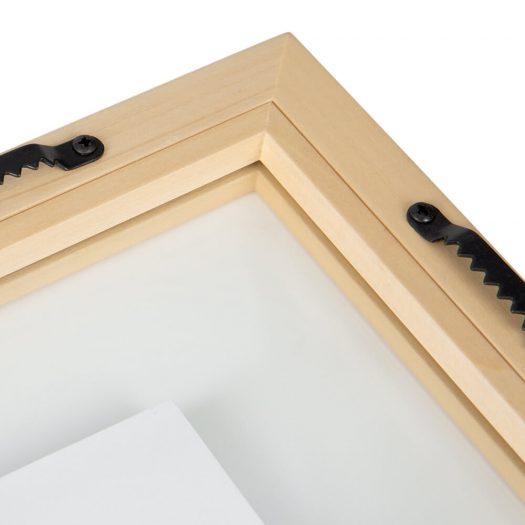 Floating Photo Frame – Wood – 8×10″