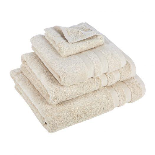 Pima Towel - Ivory - Bath Sheet