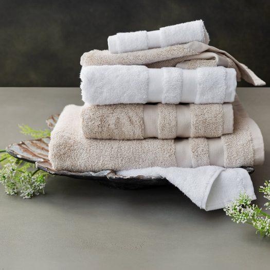 Pima Towel – Ivory – Bath Sheet