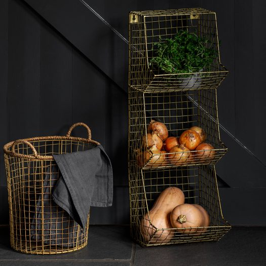 Wire Shelves – 3 Tier