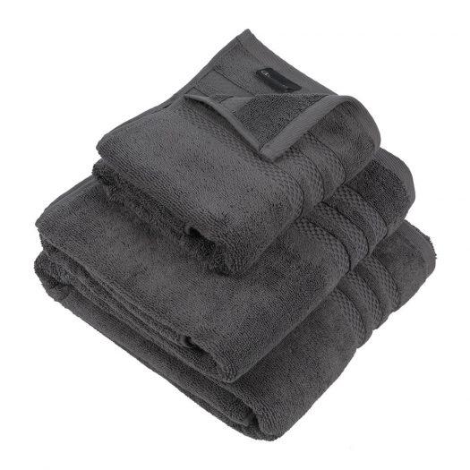 Egyptian Cotton Towel - Charcoal - Hand Towel